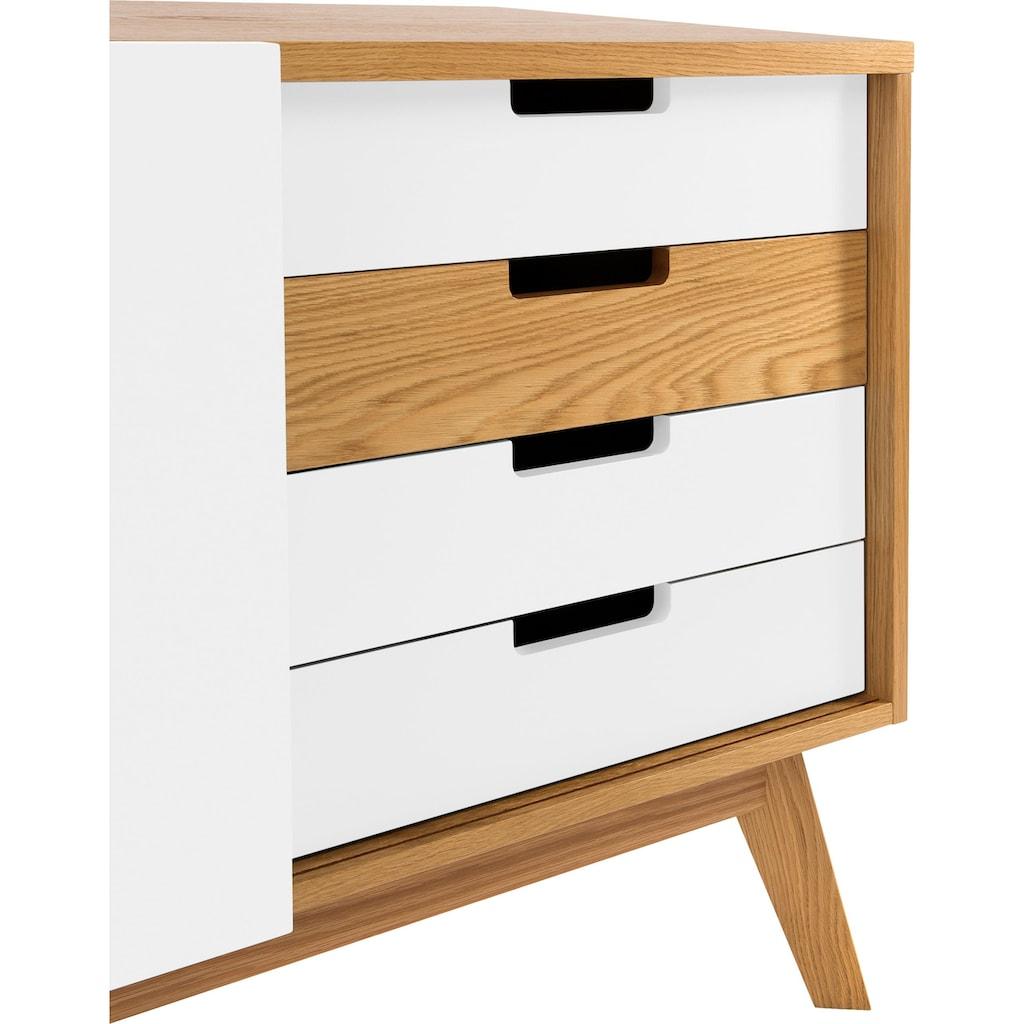 Woodman Sideboard »Estera«, Sideboard, Breite 135 cm