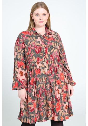 Paprika Shirtkleid »Rundhals geblümt«, bequem zu tragen kaufen