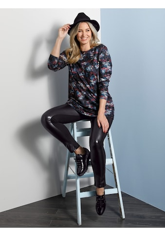 MIAMODA Leggings, vorne mit Kunstleder-Einsatz kaufen