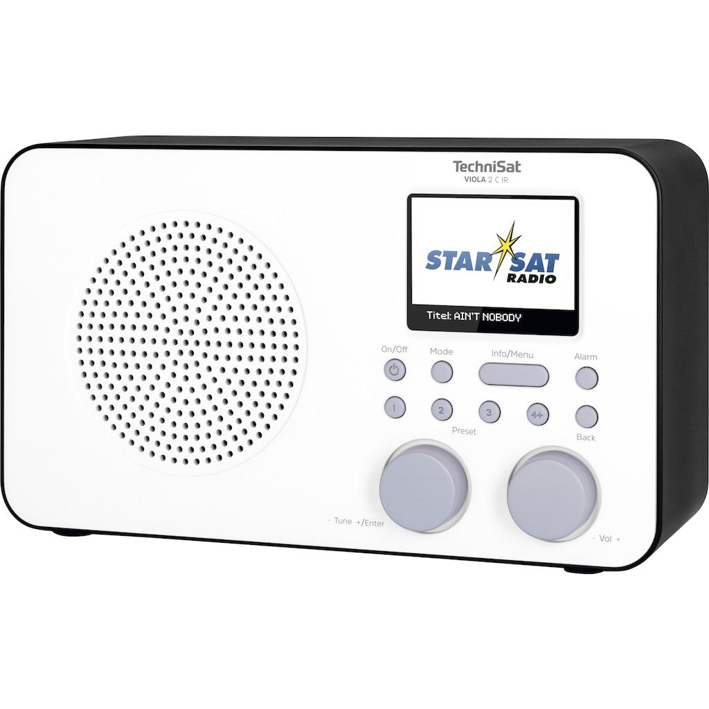 TechniSat Internet-Radio »VIOLA 2 C IR Tragbares«, (WLAN Digitalradio (DAB+)-UKW mit RDS-Internetradio ), mit DAB+, Farbdisplay, Akku