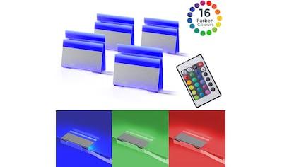 B.K.Licht LED Dekolicht, LED-Board, 4 St., Farbwechsler, LED Clips RGB... kaufen