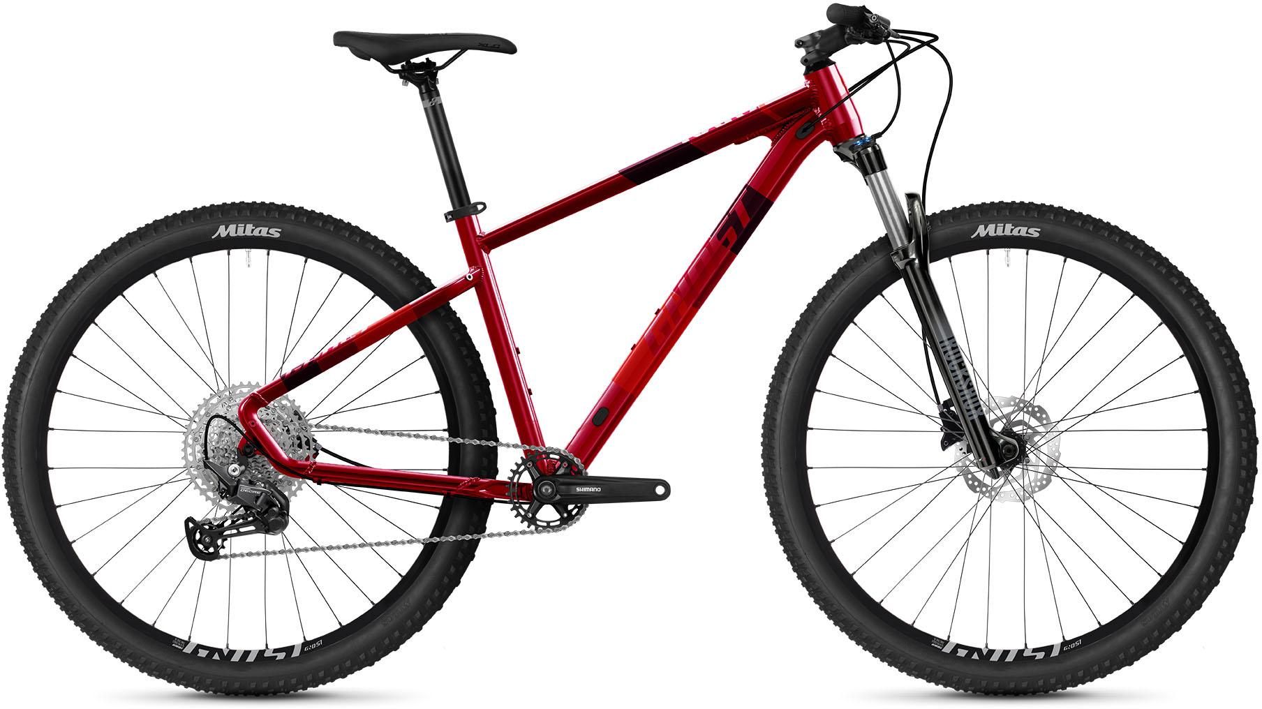 Ghost Mountainbike Kato Pro 29 AL U, 12 Gang, Shimano, RD-M6100 Schaltwerk rot Alle Fahrräder Zubehör Fahrrad