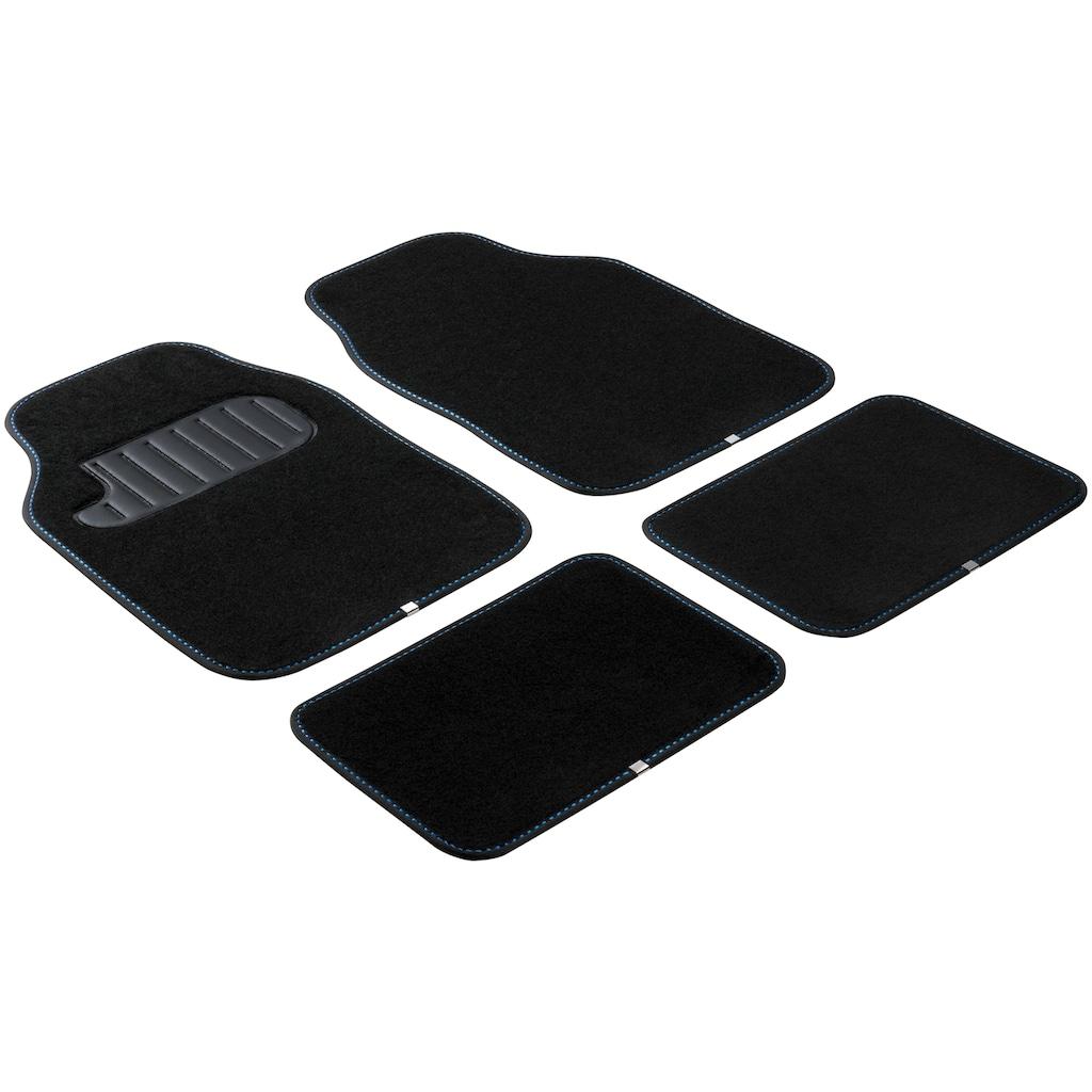 WALSER Auto-Fußmatten »TheColor«, Kombi/PKW, (Set, 4 St.)