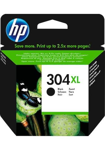 HP Tintenpatrone »hp 304XL Original Schwarz (N9K08AE)«, (1 St.) kaufen