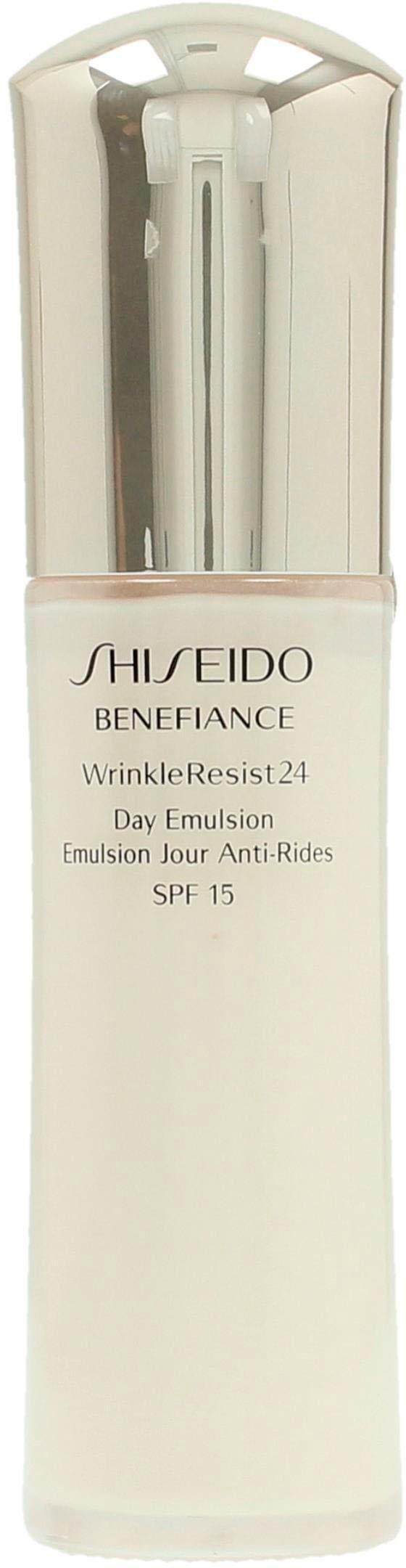 Shiseido,  Benefiance WrinkleResist24 Day Emulsion , Gesichtsemulsion Preisvergleich