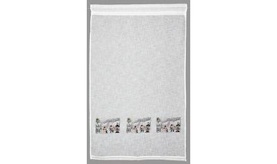 Gardine, »Wichtel«, HOSSNER  -  ART OF HOME DECO, Stangendurchzug 1 Stück kaufen