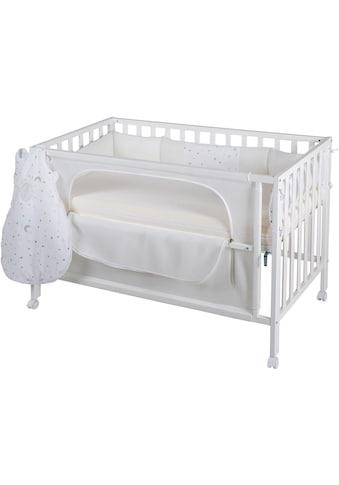 roba® Babybett, »Room Bed, safe asleep®, Sternenzauber weiß«, 4 - tlg. kaufen