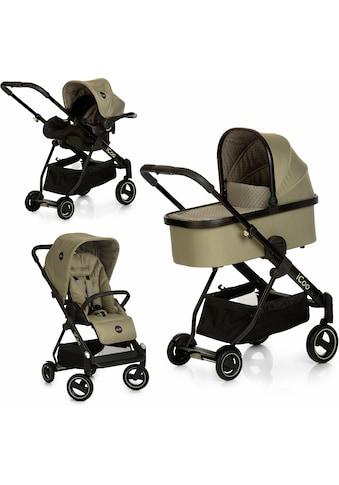 iCoo Kombi-Kinderwagen »Acrobat XL Plus Trio Set Diamond Olive«, 15 kg kaufen