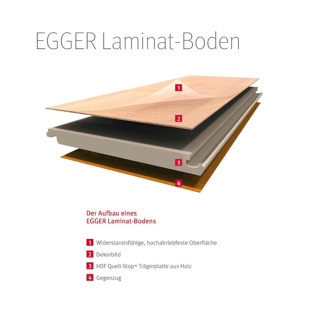 EGGER Laminat »EHL153 Eiche wild rauch«, mit Klick-Verbindung, 1292 x 192, Stärke: 7 mm