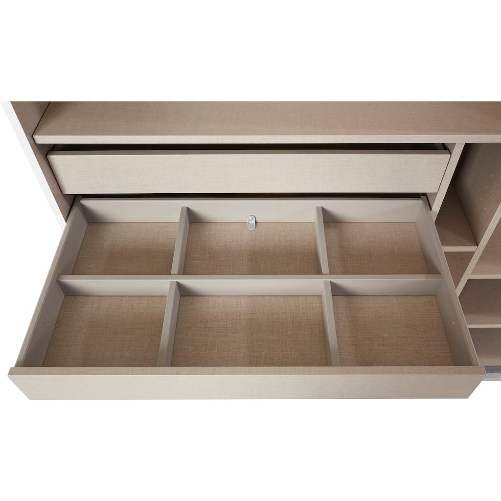 rauch ORANGE Schwebetürenschrank »Kepan«, mit umfangreicher Innenausstattung und Passepartout