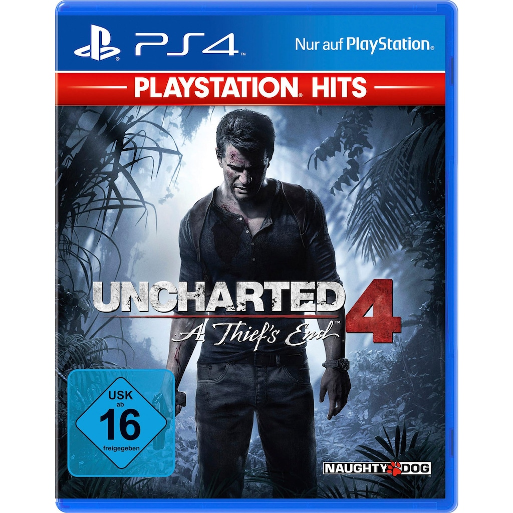 PlayStation 4 Spiel »Uncharted 4 A Thief's End«, PlayStation 4, Software Pyramide