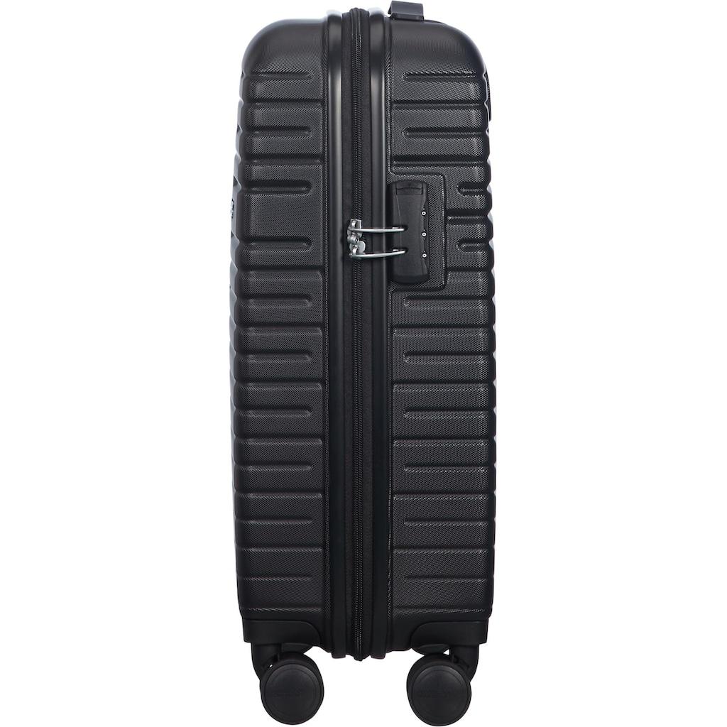 American Tourister® Hartschalen-Trolley »Aero Racer, 55 cm, jet black«, 4 Rollen