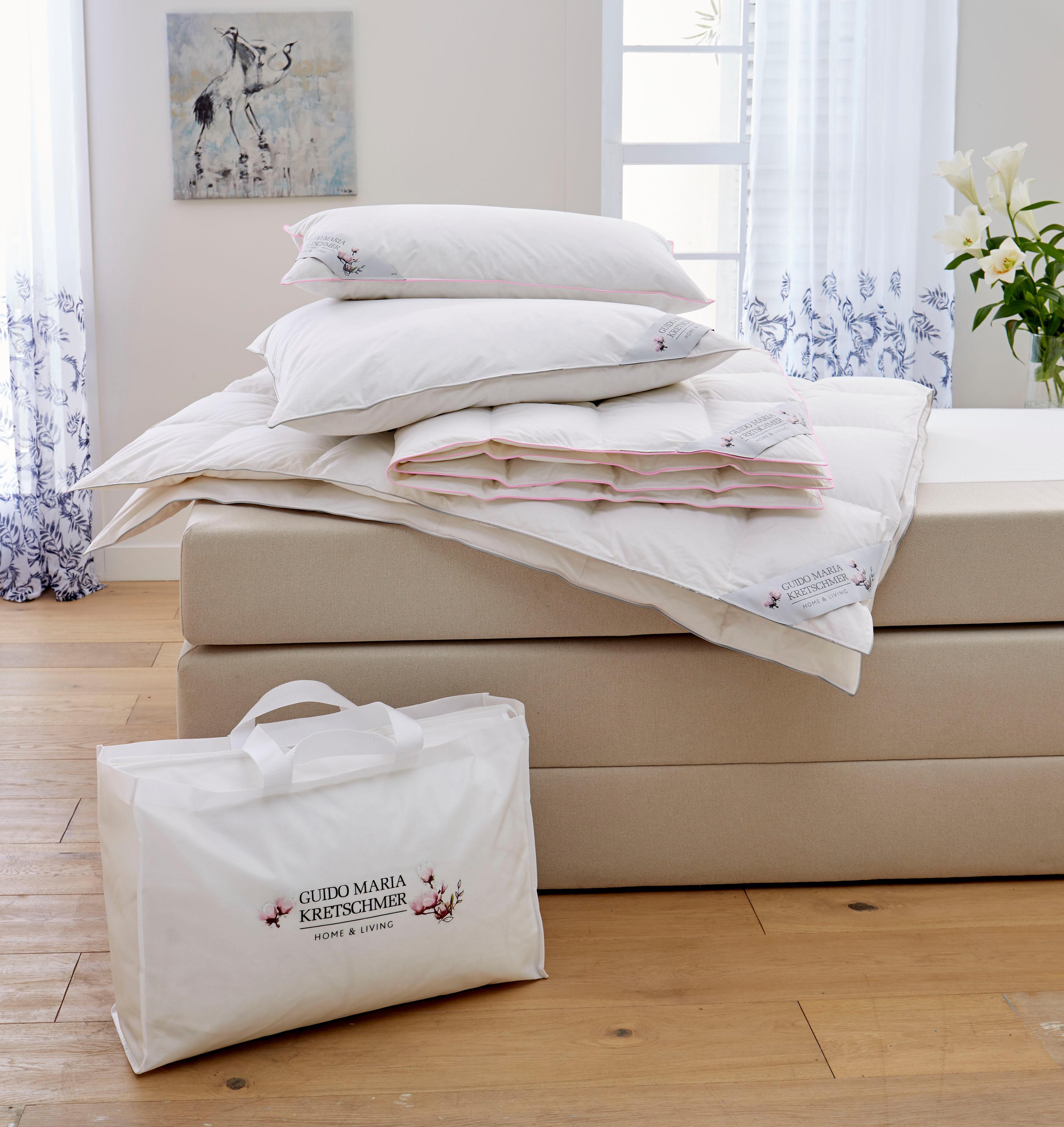 Daunenbettdecke + Kopfkissen GMK Guido Maria Kretschmer Home&Living normal