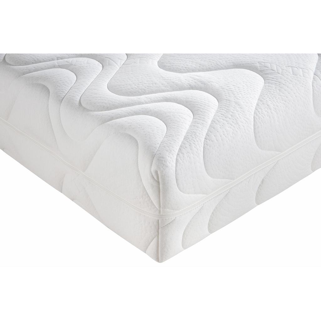 BeCo EXCLUSIV Taschenfederkernmatratze »TFK Pro Gel Luxus«, 26 cm cm hoch, 500 Federn, (1 St.), Wendematratze mit zwei unterschiedlich festen Liegeseiten