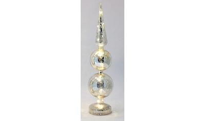 HGD Holz - Glas - Design Beleuchtetes Dekoobjekt aus Mercury - Glas kaufen