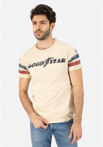 Goodyear T-Shirt »GRAND BEND«, mit stylischem Markenprint kaufen