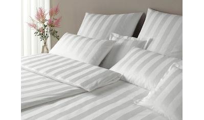 Elegante Bettwäsche »Noblesse«, im modernen Streifendesign kaufen