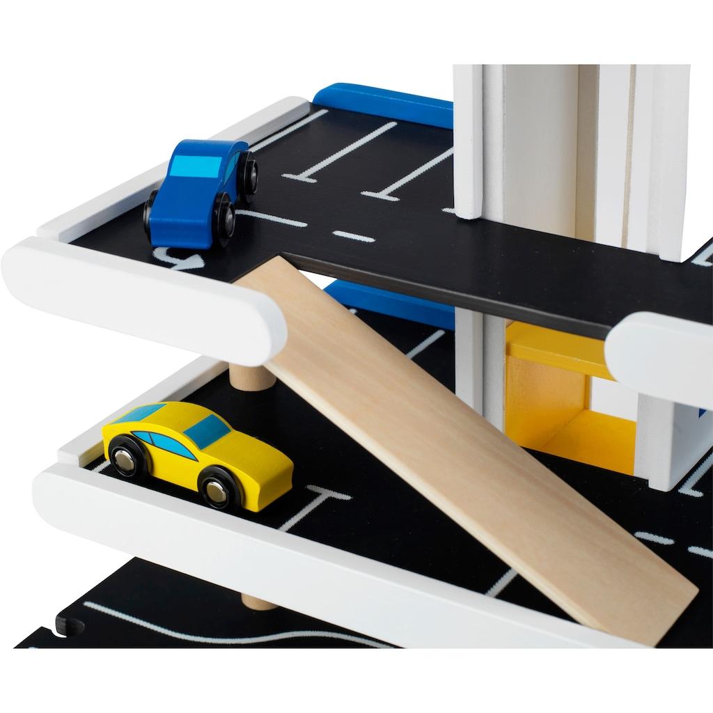 Klein Spiel-Parkhaus »Michelin«, FSC®-Holz aus gewissenhaft bewirtschafteten Wäldern