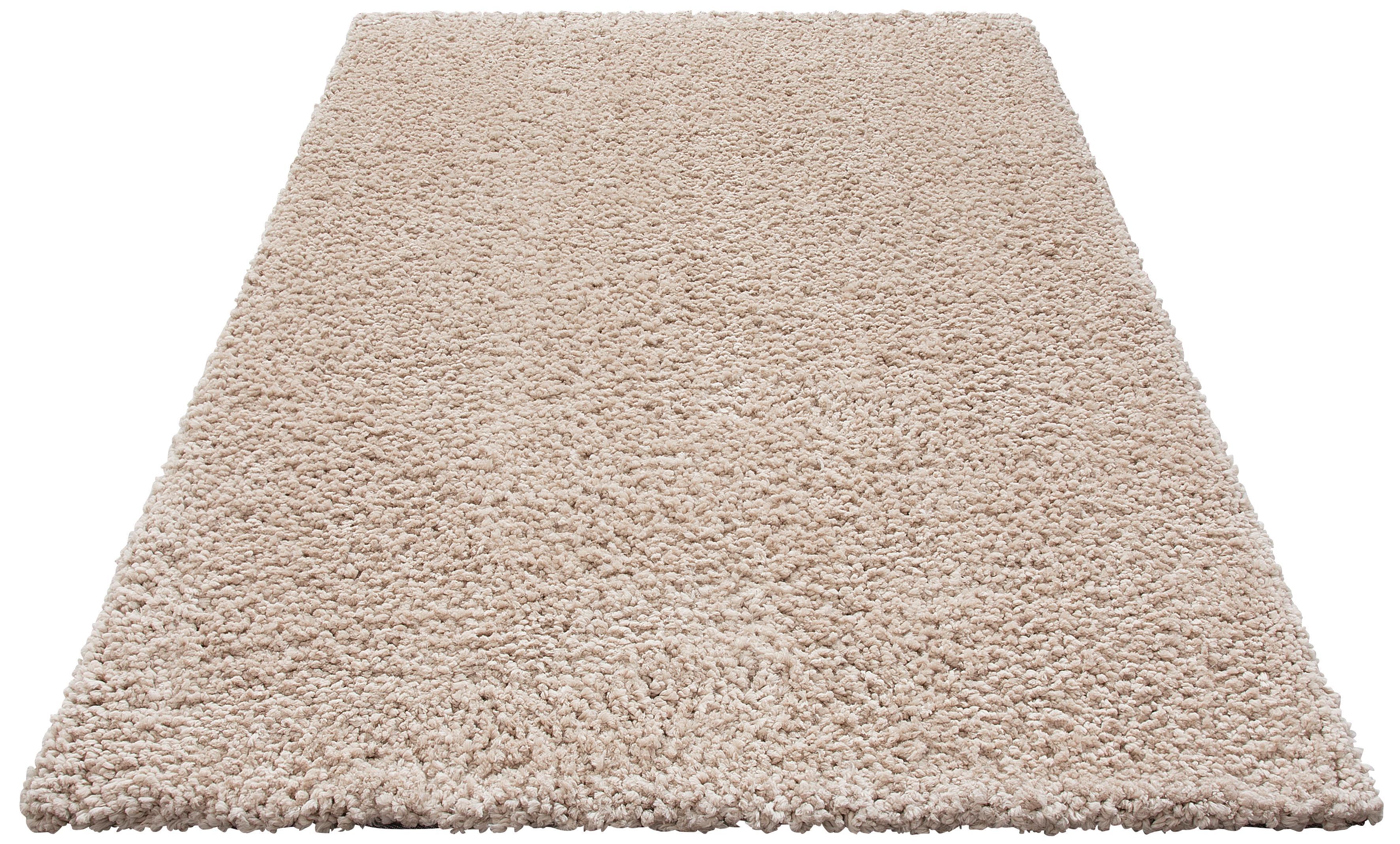 Hochflor-Teppich Florenz Home affaire rechteckig Höhe 45 mm maschinell gewebt