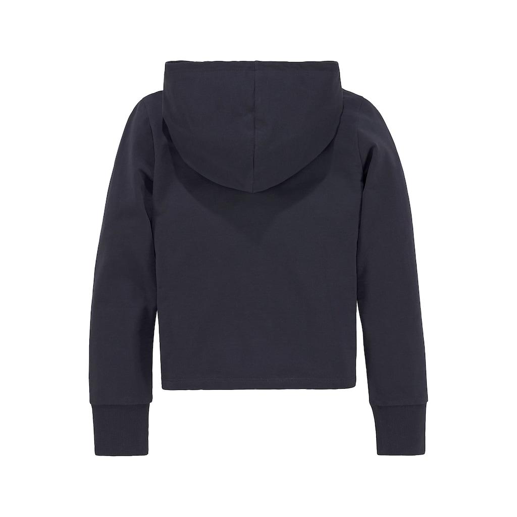 Arizona Kapuzensweatshirt, mit breiten Ärmelbündchen