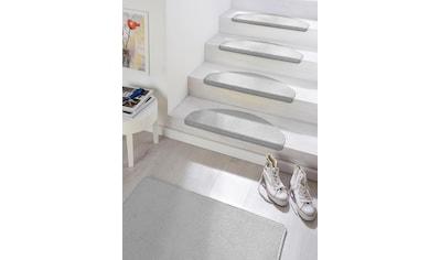 HANSE Home Stufenmatte »Fancy«, halbrund, 7 mm Höhe, 15 Stück, große Farbauswahl kaufen