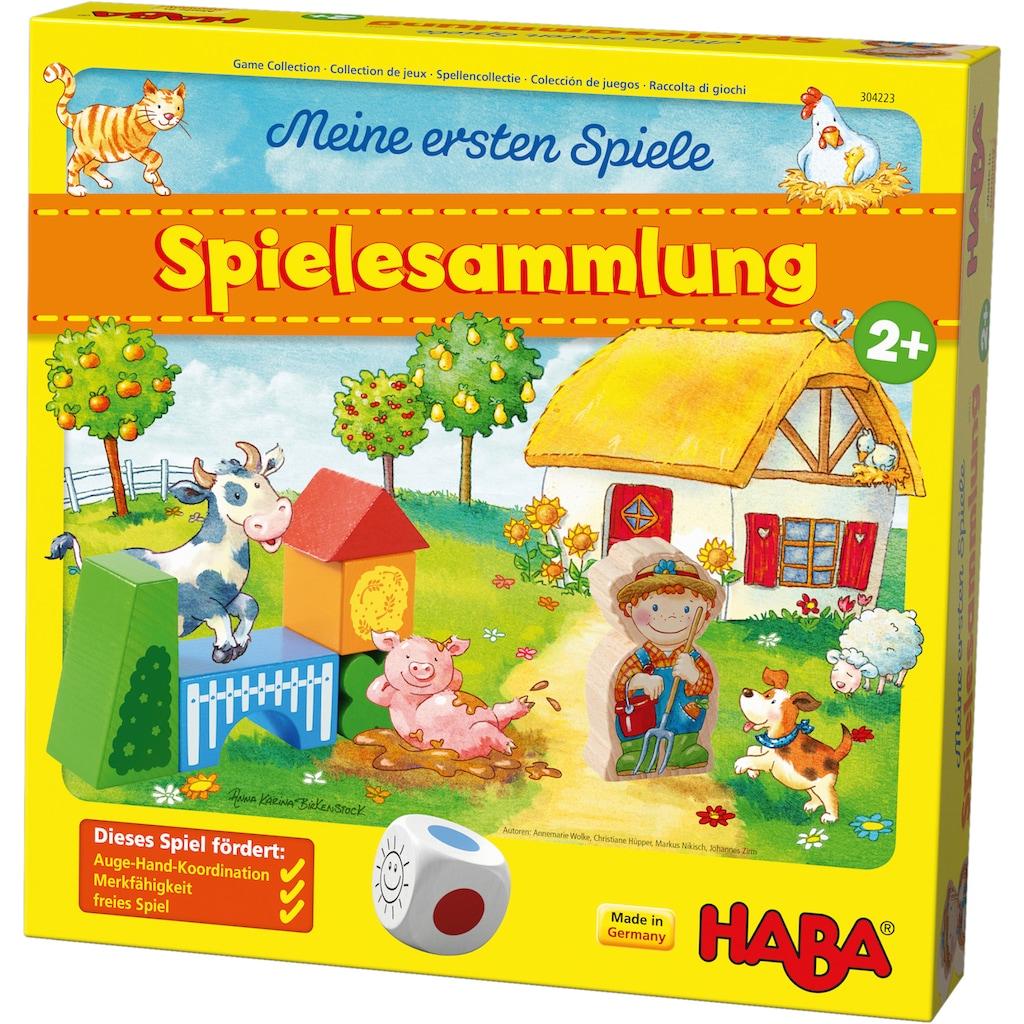 Haba Spiel »Meine ersten Spiele - Spielesammlung«, Made in Germany
