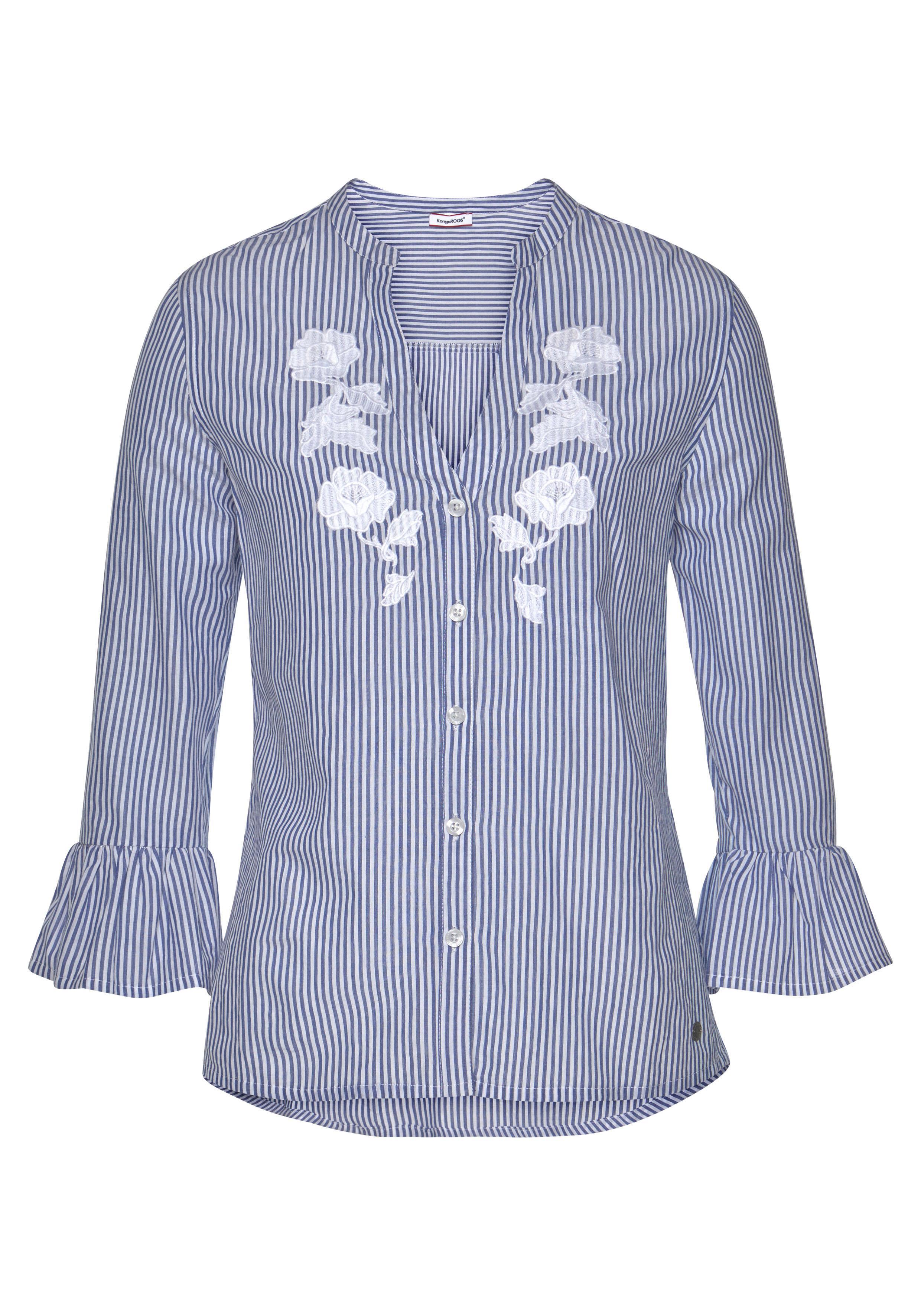 HemdBlause  Damen  4 4 4 Arm Blausen  Blausen Kangaroos 4 arm Blausen 3 100% Baumwolle,M | Mode-Muster  | Gutes Design  | Deutschland Shops  603ff6