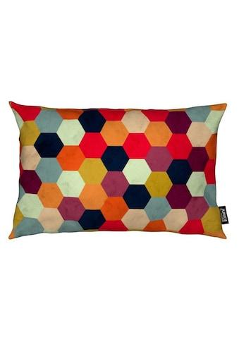 Dekokissen, »Colorful Beehive Pattern«, Juniqe kaufen