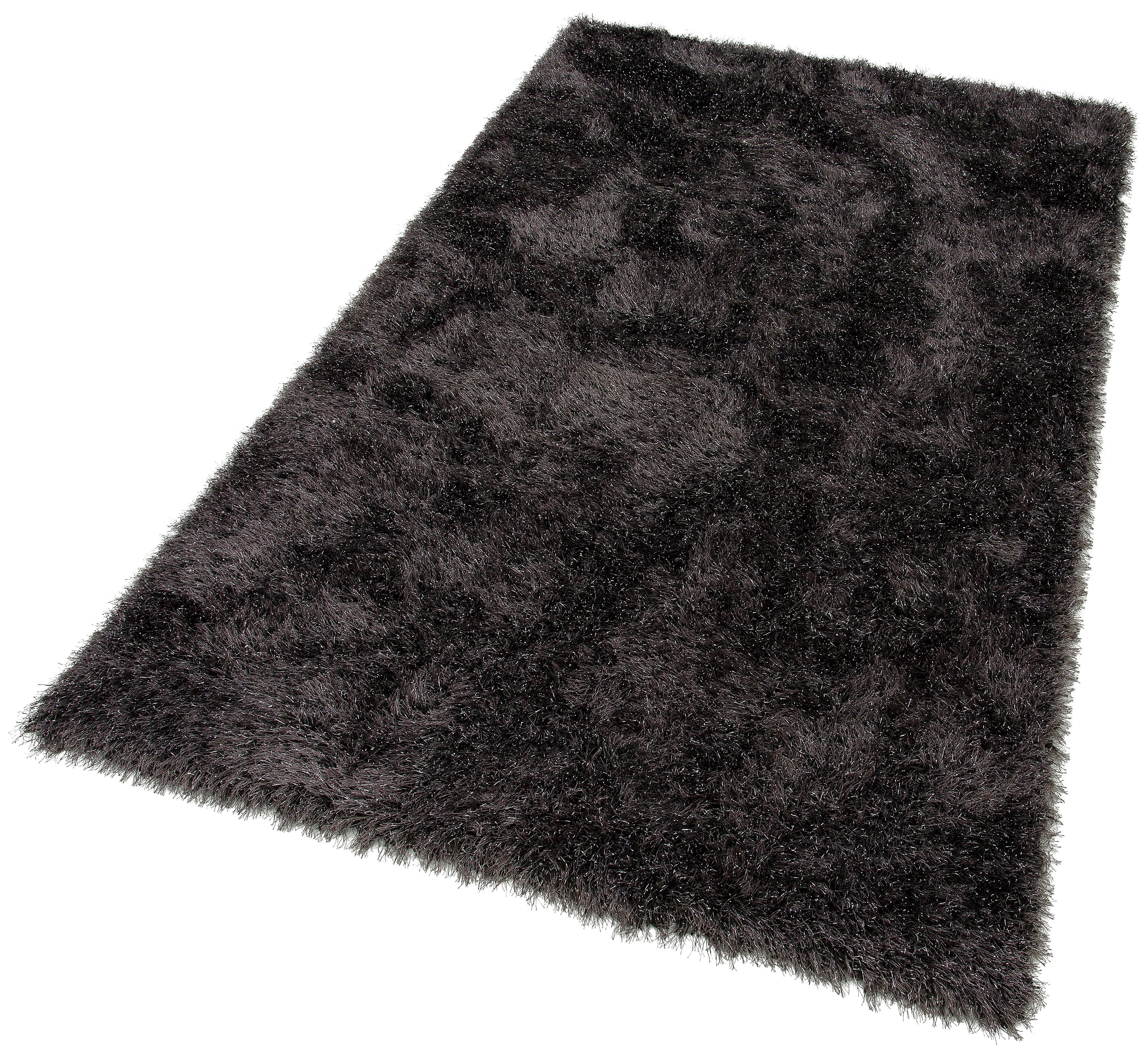 Hochflor-Teppich Glossy 411 merinos rechteckig Höhe 70 mm maschinell gewebt