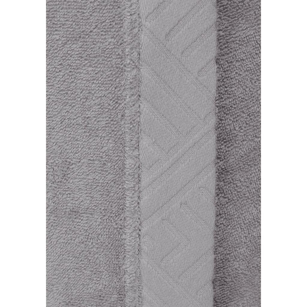 andas Damenbademantel »Livia«, aus Bio-Baumwolle
