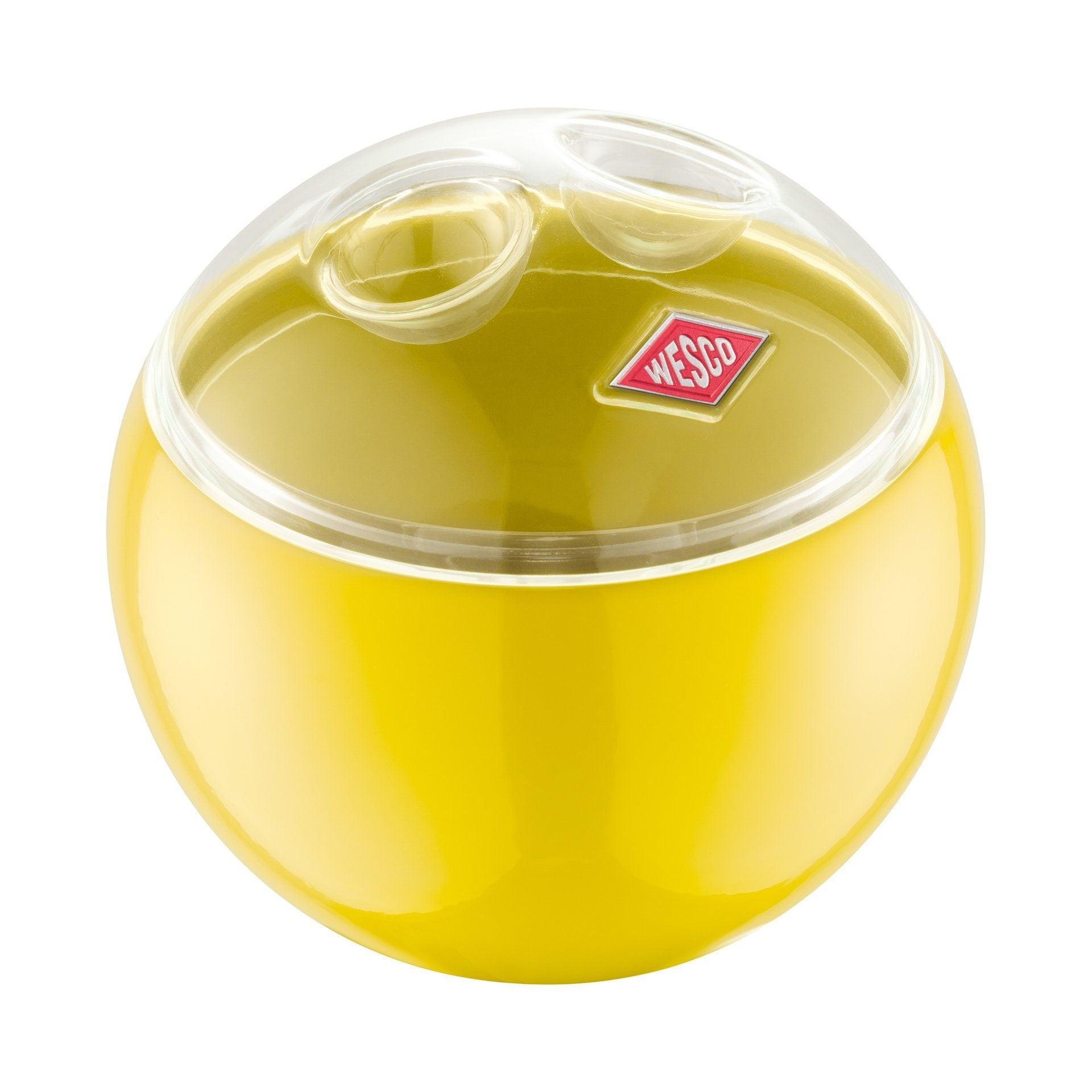 Wesco Aufbewahrungsbehälter MINI BALL gelb Aufbewahrung Küchenhelfer Haushaltswaren