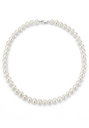 Firetti Perlenkette »rhodiniert, massiv, rund, stilvolles Design«, mit Süßwasserzuchtperlen, Made in Germany kaufen