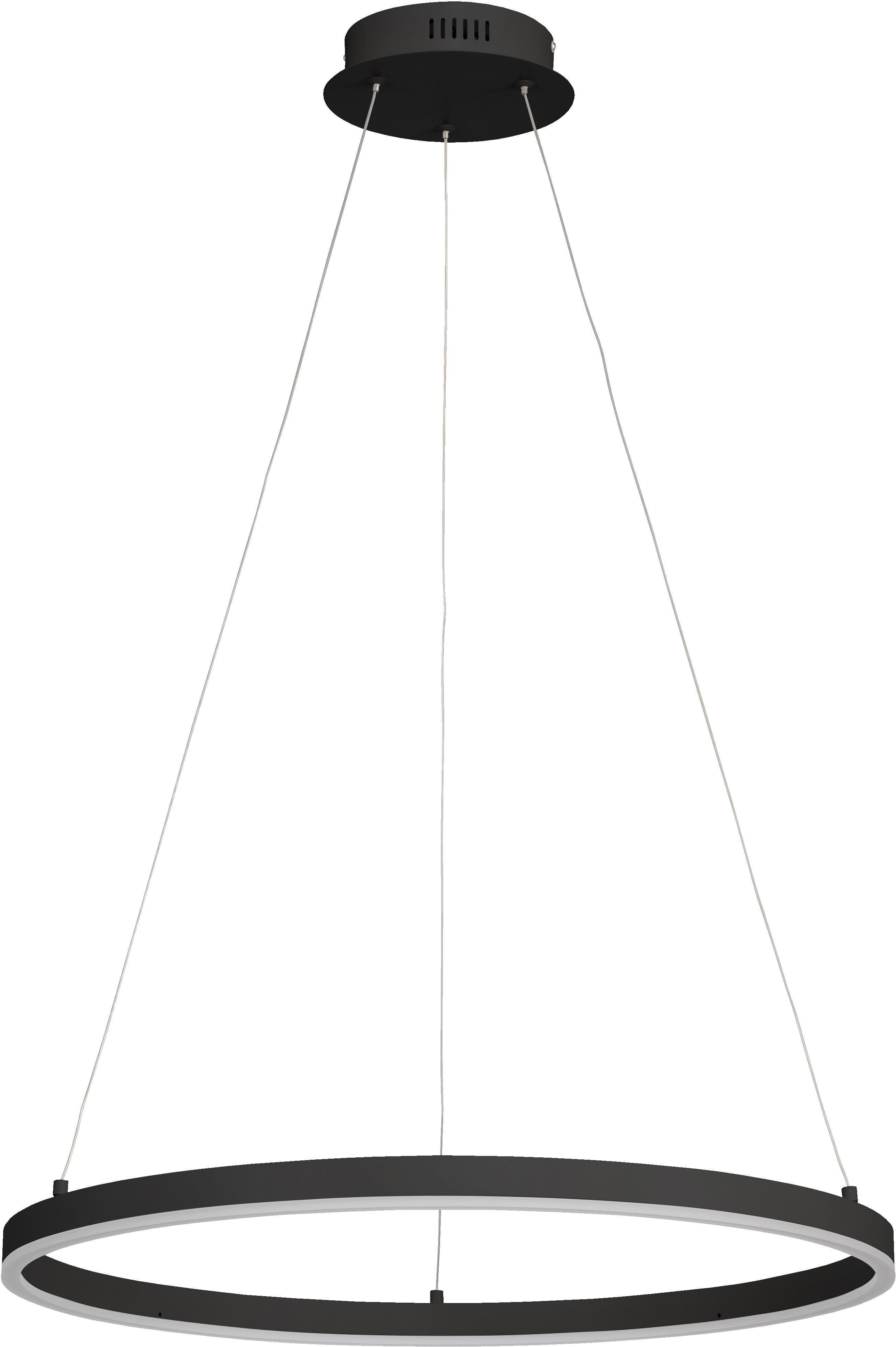 WOFI Pendelleuchte VAASA, LED-Board, Warmweiß, Hängeleuchte, Hängelampe