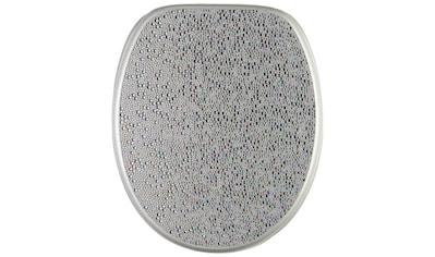 Sanilo WC - Sitz, »Crystal Silver« kaufen