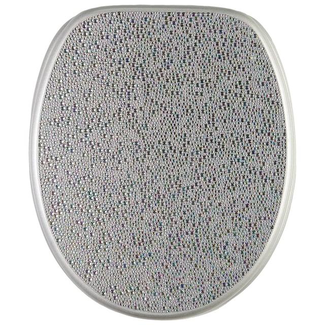 SANILO WC-Sitz »Crystal Silver«
