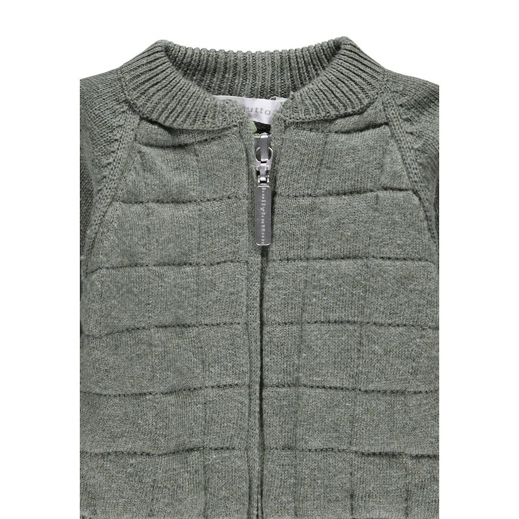 Bellybutton Strickjacke aus kuscheliger Baumwolle