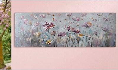 GILDE Leinwandbild »Blütenwiese« kaufen