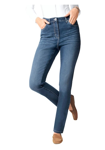 Classic Basics Jeans in aktueller Used - Optik kaufen