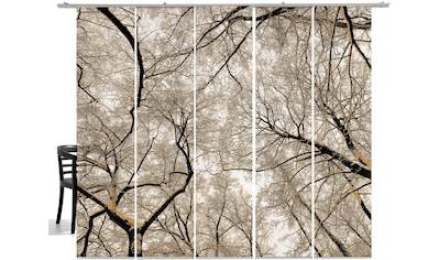 emotion textiles Schiebegardine »Wood«, HxB: 260x60, mit Befestigungszubehör kaufen