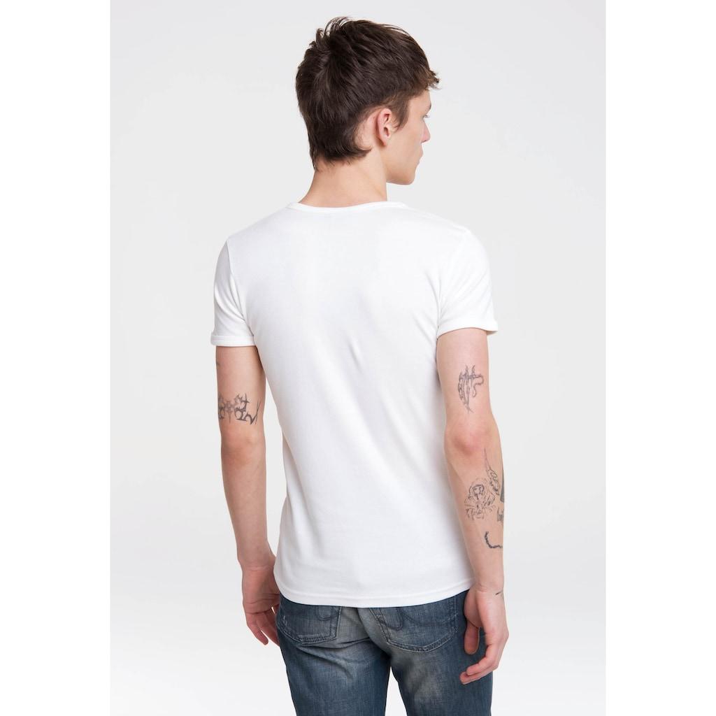 LOGOSHIRT T-Shirt »The Beatles«, mit coolem Front-Print