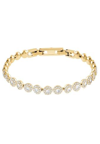 Swarovski Tennisarmband »ANGELIC M, 5505469«, mit Swarovski® Kristallen kaufen