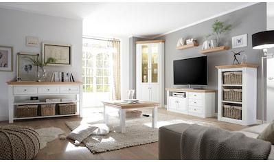 WEHRSDORFER TV-Board »Maisonette«, mit 1 offenen Fach und 3 Schubkästen, Breite 142 cm kaufen