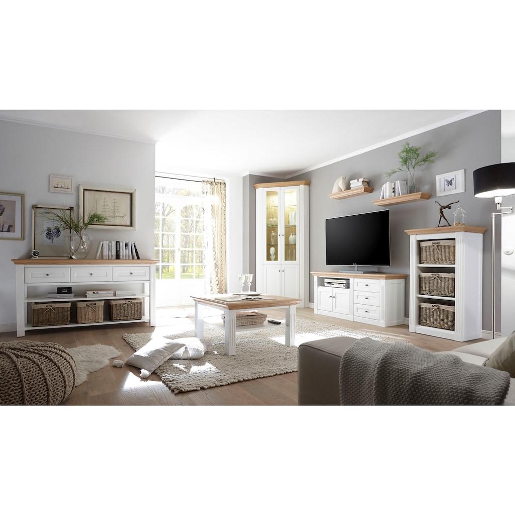 WEHRSDORFER TV-Board »Maisonette«, mit 1 offenen Fach und 3 Schubkästen, Breite 142 cm