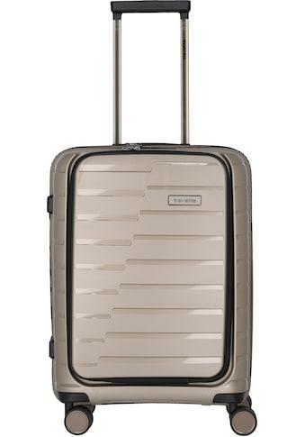 """travelite Business - Trolley """"Air Base mit Vortasche, 55 cm"""", 4 Rollen kaufen"""