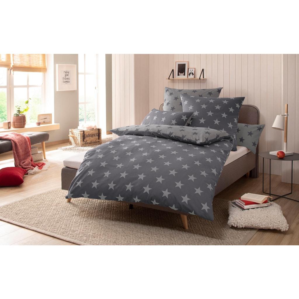 my home Wendebettwäsche »Stella«, mit Sternen-Muster