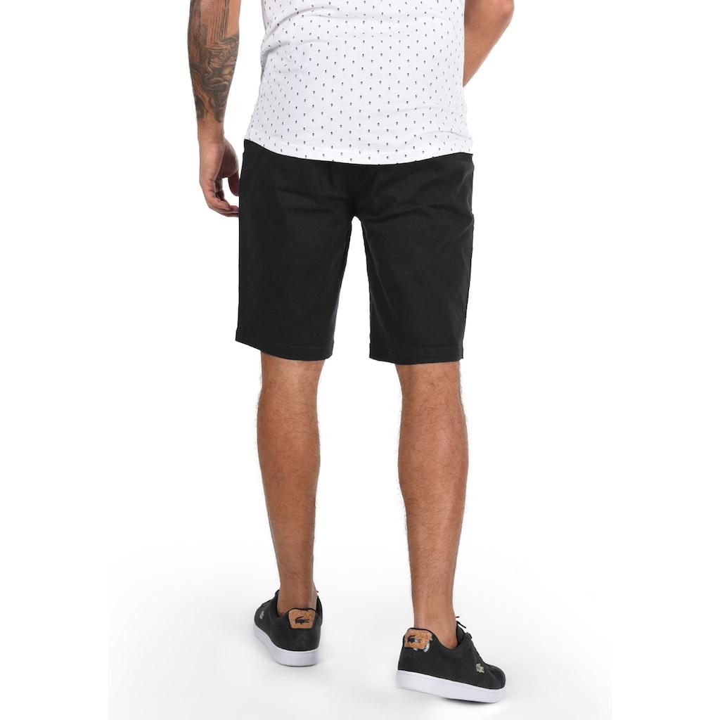 Solid Chinoshorts »Lomego«, kurze Hose mit knöpfbaren Gesäßtaschen