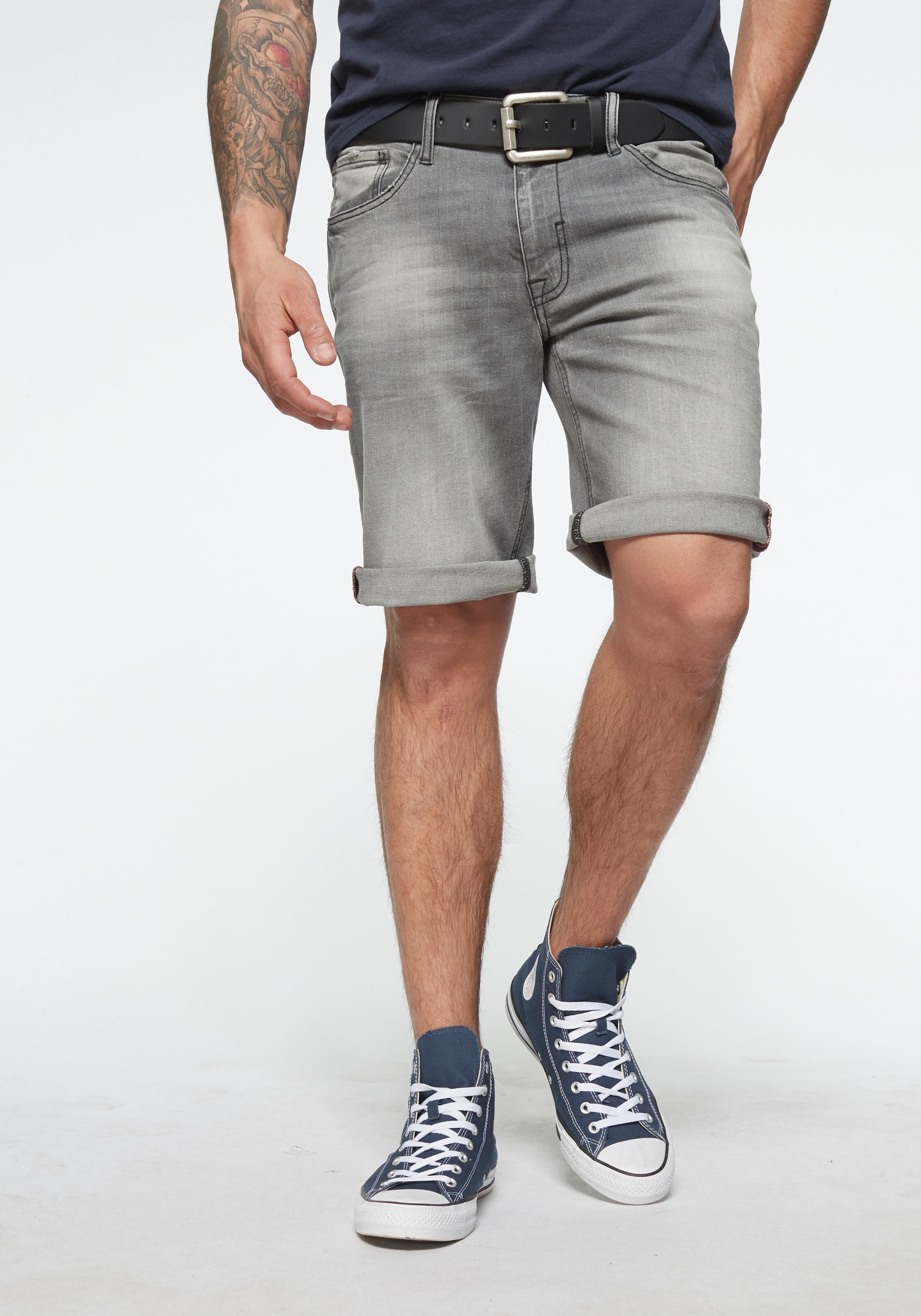 Blend Jeansbermudas »Twister« | Bekleidung > Shorts & Bermudas > Jeans Bermudas | Grau | Blend