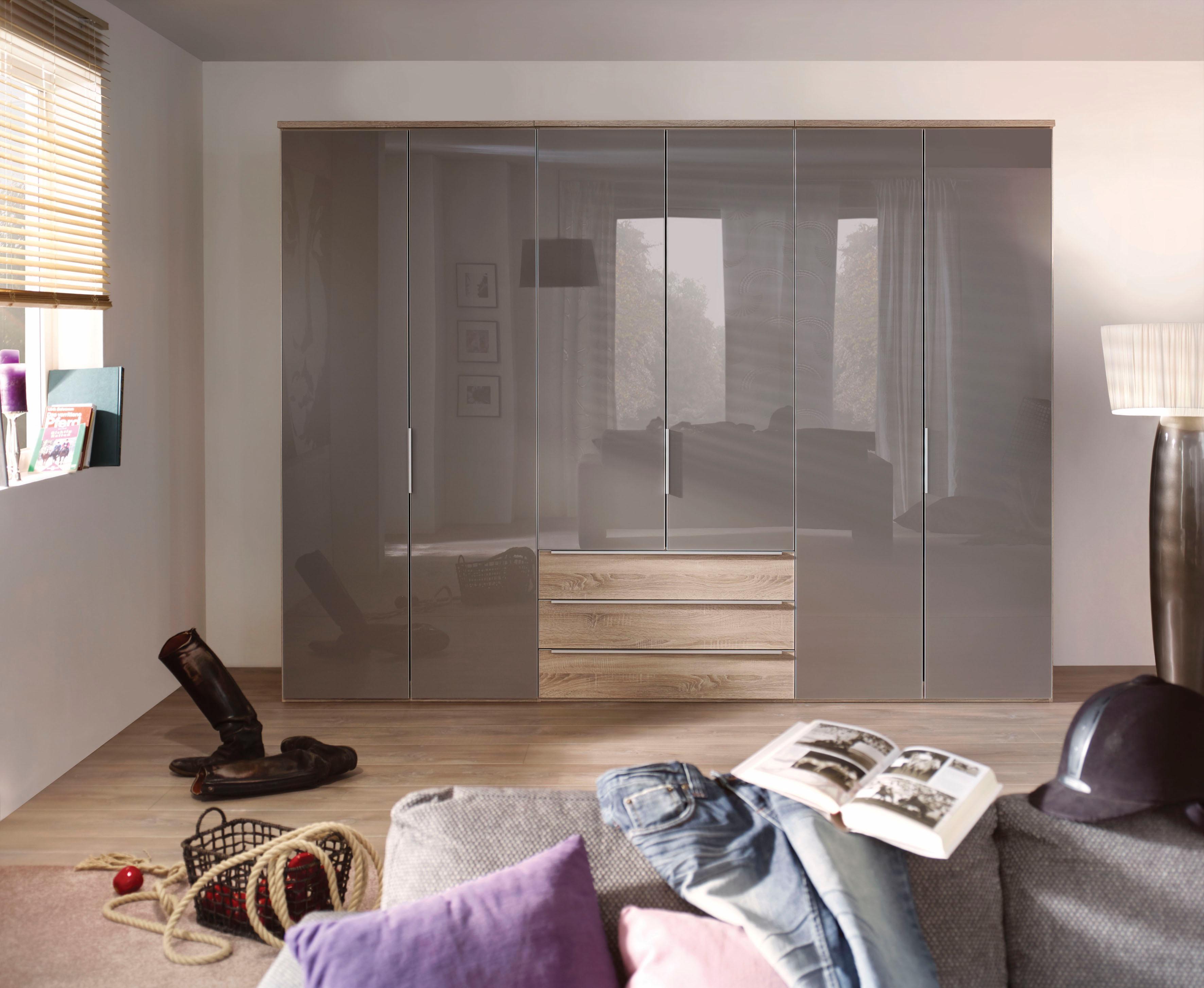 nolte® Möbel Drehtürenschrank »Horizont 10500«, mit Glasfronten und  Schubkasteneinsatz