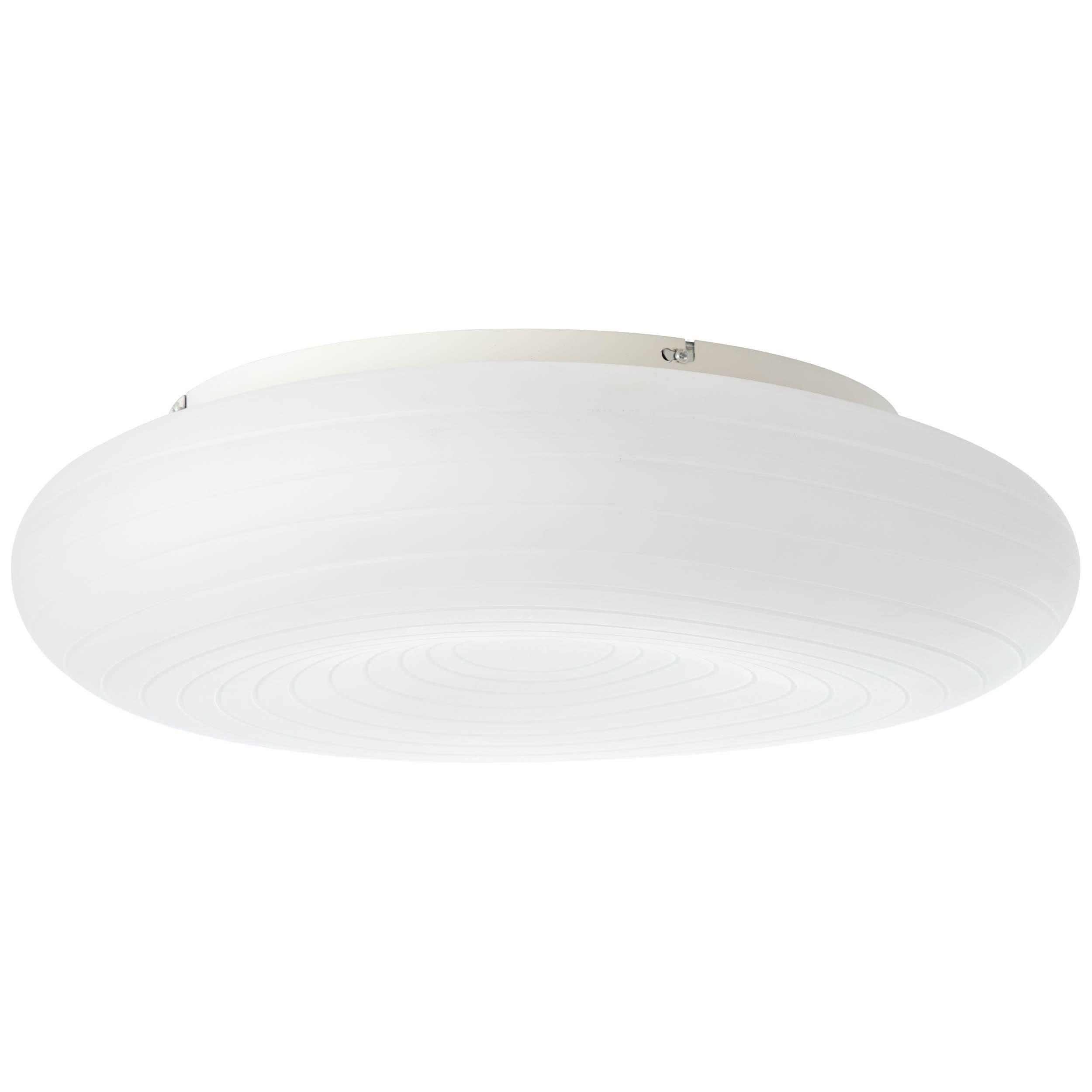 Brilliant Leuchten Pebbles LED Deckenleuchte 58cm weiß