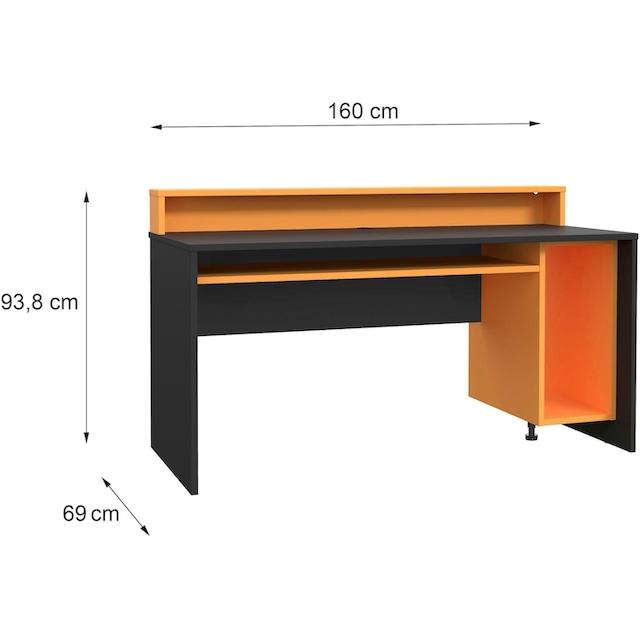 FORTE Gamingtisch »Tezaur«